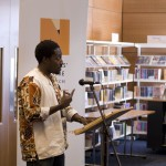 reading at Norwich Millennium Library